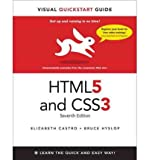 img - for HTML5 & CSS3: Visual QuickStart Guide (Visual QuickStart Guides) (Paperback) - Common book / textbook / text book