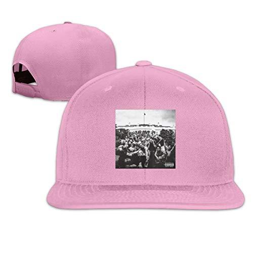 - eyscar Men&Woman's Kendrick Lamar to Pimp Design Gift Flat Trucker Hat with Adjustable Strap Unisex Pink