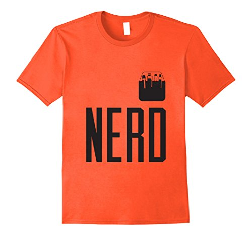 Mens Halloween Costume Nerd Shirt Cute Funny Adult & Kid Geeks Medium (Nerds Candy Halloween Costume)