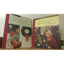 2 Volumes of Christmas with Martha Stewart's Living CLassic Crafts and Recipes: VOl. 5 For the Holidays & Vol. 6 Inspired by The Songs of Christmas with Sheet Music for Ten Holiday Favorites