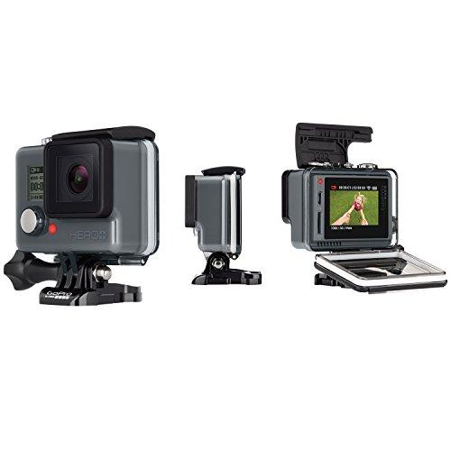 GoPro HERO - Videocámara deportiva LCD (pantalla táctil integrada + altavoz, impermeable hasta 40 m), (versi 152.56€