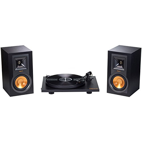 Klipsch R-P15M Pro-Ject Primary Powered Speaker and Turntabl