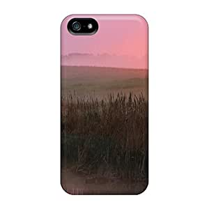 High Quality Beautiful Foggy Sunrise Tpu Case For Iphone 5/5s