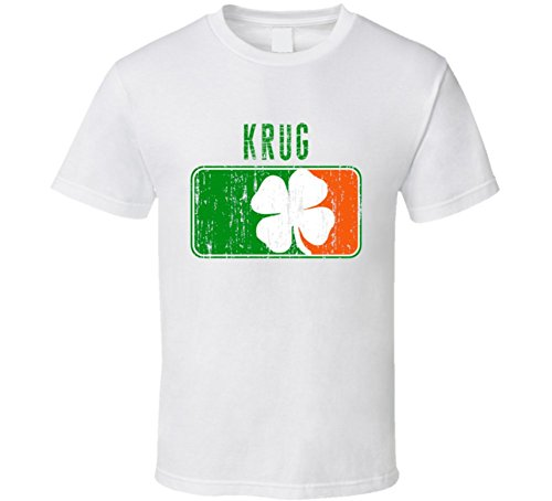 krug-distressed-st-patricks-day-last-name-t-shirt-2xl-white