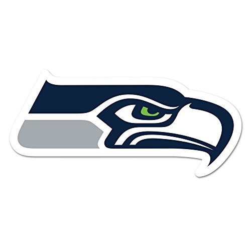 WinCraft NFL Seattle Seahawks Logo on The GoGo Decals, Team Color, One Size