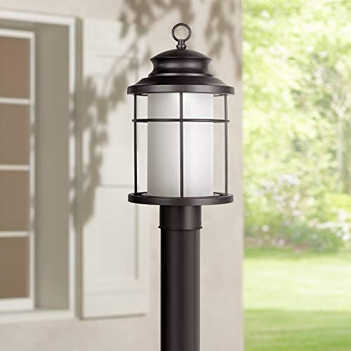 Led 3 Light Outdoor Post Lantern in US - 9