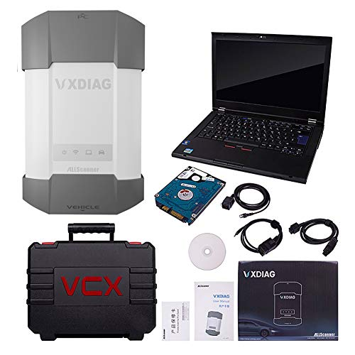 VXDIAG 12in1 Auto Diagnostic Tool Key Programmer Scan All Cars Immobilizer OBDII Scanner Diagnosis Work for BMW icom a2 a3 for Volvo for Chevrolet for Mercedes C6 Replace Star C4 +Used Laptop 2tHdd