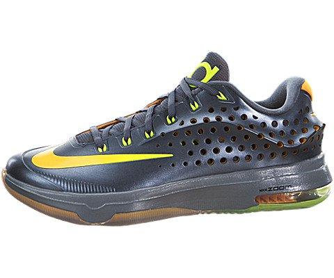 official photos 26b1a f775c Nike Mens KD VII Elite Blue Graphite Volt-Bright Citrus-Dove Grey Synthetic  Size 11