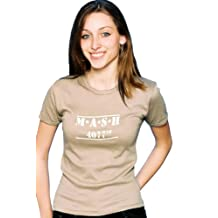 Filmgifts Women's Mash 4077th Fitted Tshirt