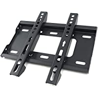 CNAweb TV Wall Mount Fixed Low Profile for Most 17 19 20 23 26 27 30 32 LED LCD Flat Monitor w/ VESA Up to 200x200 99 lbs