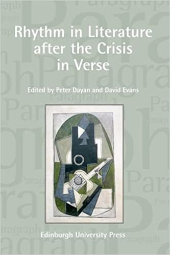 Rhythm in Literature After the Crisis in Verse (Paragraph Special Issues)