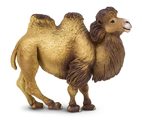Safari Ltd Wild Safari Wildlife Bactrian Camel Realistic Hand-Painted Toy Figurine Model For Ages 3 And Up