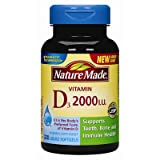 Nature Made Vitamin D3 2,000 IU – 320 Softgels Review