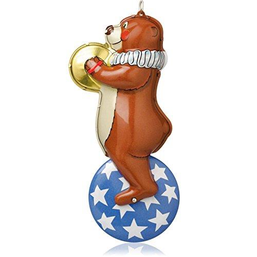 (Hallmark Keepsake Ornament Big Top Bear 1st in The Tin Toys Series 2014)