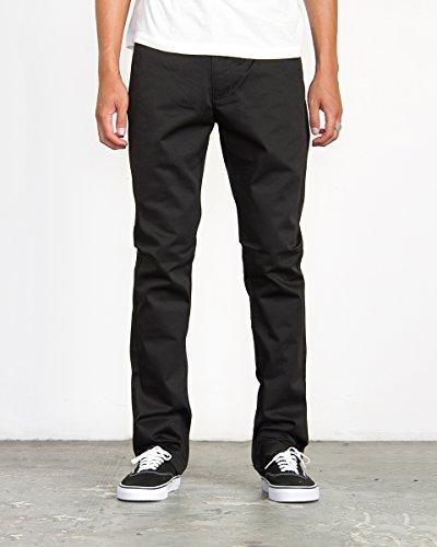 Weekend Chino Pants - RVCA Men's Week-End Pant, Black, 32