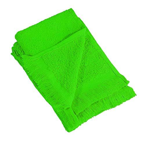 ((10 Pack) Set of 10- Promotional Priced Fingertip Towels (Lime))