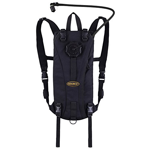 Source Tactical Advance Mobility 3-Liter Hydration System Pack, 3 Usage Modes (Black)
