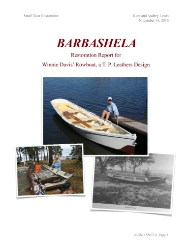 Barbashela Restoration Report: Winnie Davis' 1880s Rowboat by CreateSpace Independent Publishing Platform