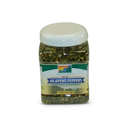 (Mother Earth Products Dried Jalapeno Peppers, 6 oz Jar)