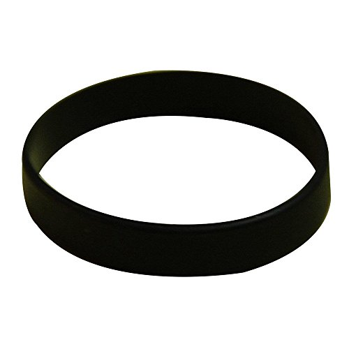 Vitalite 100pcs/set Plain Silicone Wristbands Blank Rubber Bracelets for Adult Black