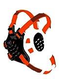 Cliff Keen F5 Tornado Headgear - Black/White/Orange