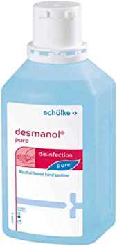 Desmanol Pure Handedesinfektion Losung 500 Ml Amazon De