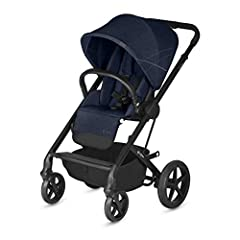 Color:Denim Blue The redesigned Balios S offers convenience for you and comfort for your baby, all in a chic, stylish package. The suspension on the all-terrain wheels ensures a smooth and agile ride on uneven pavement or off-road. Features l...