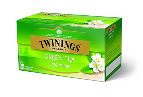 Twinings of London Jazmin Te Verde 25 bolsas de