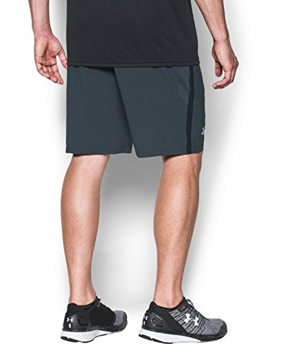 Under Armour Men's Launch 9'' Shorts, Stealth Gray/Reflective, X-Small by Under Armour (Image #1)
