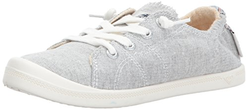 Roxy Women's Rory Slip On Sneaker Shoe, Grey Ash, 9 (Ash Slip On Sneaker)