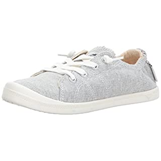 Roxy Women's Rory Slip On Shoe Sneaker, Grey Ash, 7
