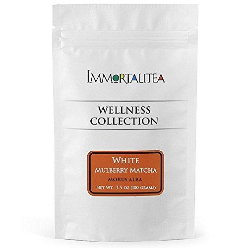 immortalitea-mulberry-matcha-style-tea-powder-kuwacha-caffeine-free-100g-by-the-immortalitea-company