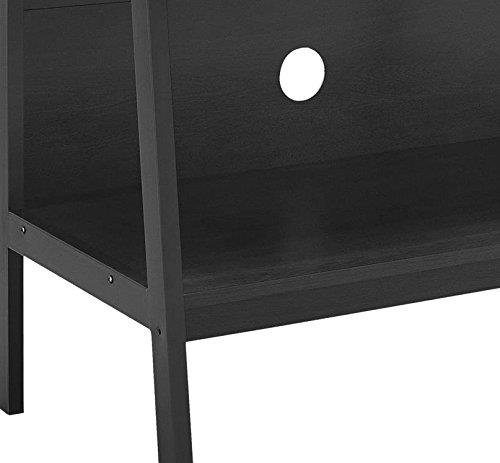 Ameriwood Home Lawrence 60'' Ladder TV Stand, Black by Altra Furniture (Image #5)