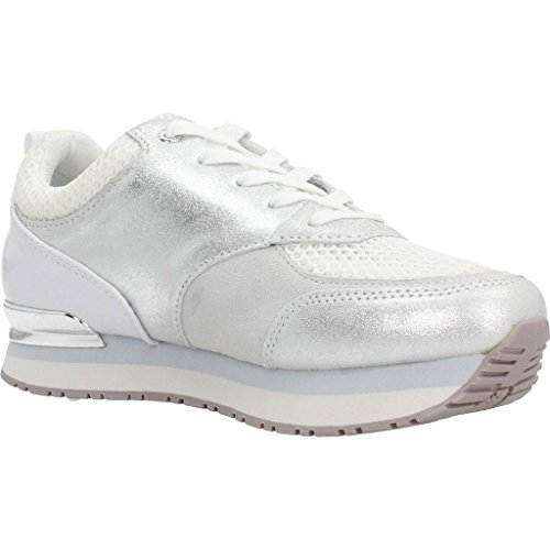 GUESS Rimma, Zapatillas de Tenis para Mujer Blanco