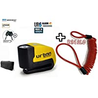 URBAN - Candado de disco UR6 con Alarma