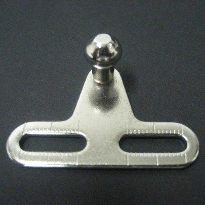 1 par de bisagras de gas GTV 100 Nm, con cierre suave para puertas