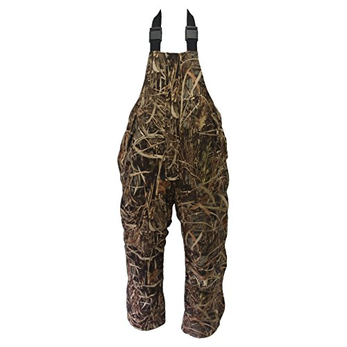 Wildfowler Waterproof Insulated Bibs, Wild Grass, 3X-Large
