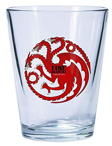 Thrones Shot Glass - Dark Horse Deluxe Game of Thrones Shot Glass: Targaryen Sigil