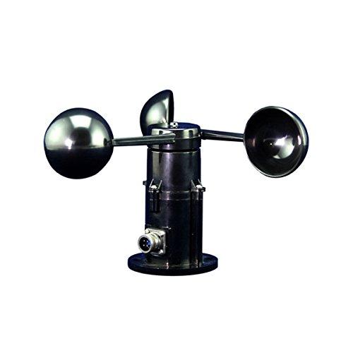 - UEETEK Wind speed Sensor Anemometer 0-5V Voltage 3 Cup Wind Speed Transmitter Weather Stations
