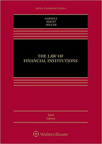 Download The Law of Financial Institutions (Aspen Casebook