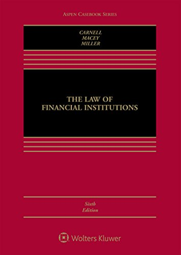 The Law of Financial Institutions (Aspen Casebook)