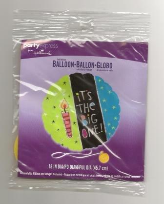 hallmark helium ballon