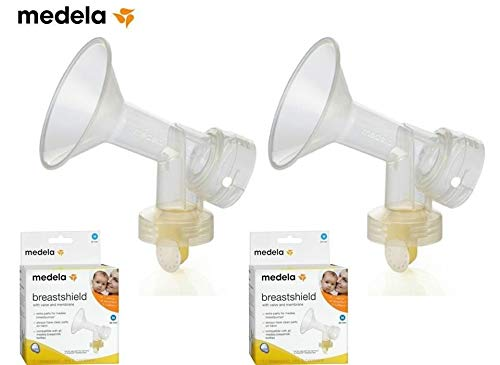 Medela Breastshield (24 mm) with Valve and Membrane (Set of 2)