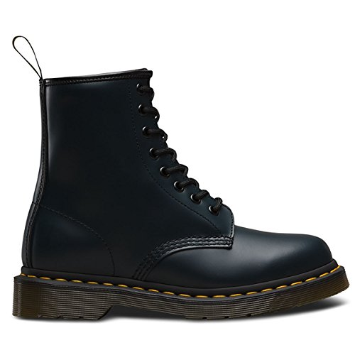 Dr.Martens Womens 1460 8 Eyelet Smooth Navy Leather Boots 8.5 US