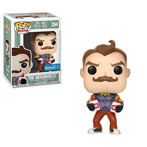 Figura Pop Hello Neighbor with Glue Exclusive