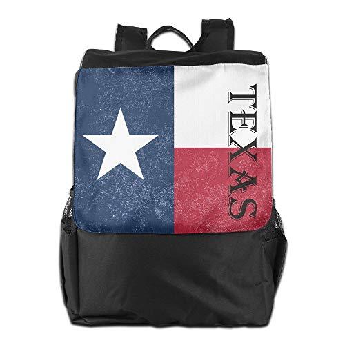 Beach Surfer Outdoor Backpacks Texas State Flag Bookbag Polyester Multifunction Adult