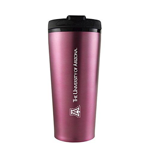 University of Arizona -16 oz. Travel Mug Tumbler-Pink
