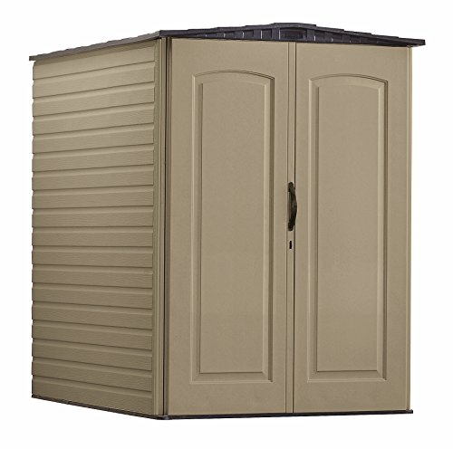 Rubbermaid Plastic Large Outdoor Storage Shed,159 cu. ft.,