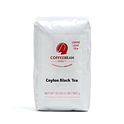 Coffee Bean Direct Ceylon Loose Leaf Tea, 2 Pound Bag