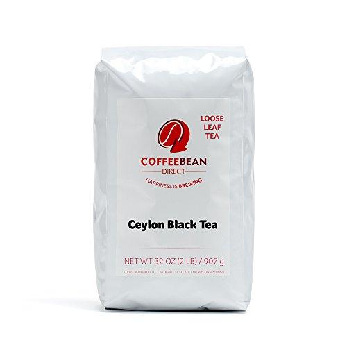Coffee Bean Direct Ceylon Loose Leaf Tea, 2 Pound Bag (Kenilworth Estate Tea)